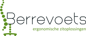 Bureau en trippelstoel op maat ~ Berrevoets, ergonomische zitoplossingen ~ Varier retailer Logo