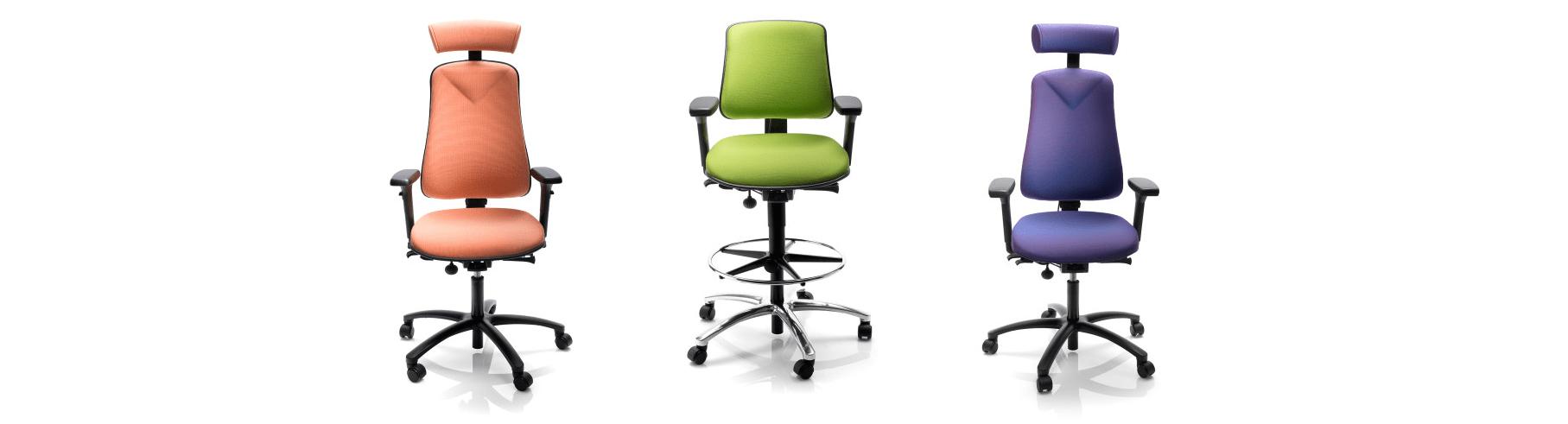 Bureaustoel met of zonder armleuningen
