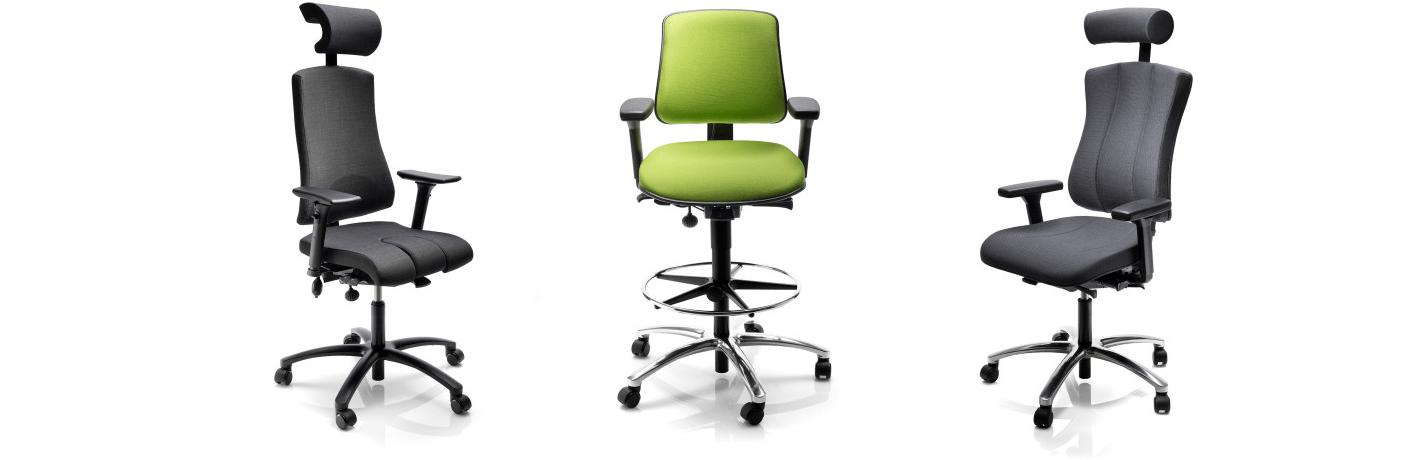 Actief dynamisch zitten bureaustoel op maat