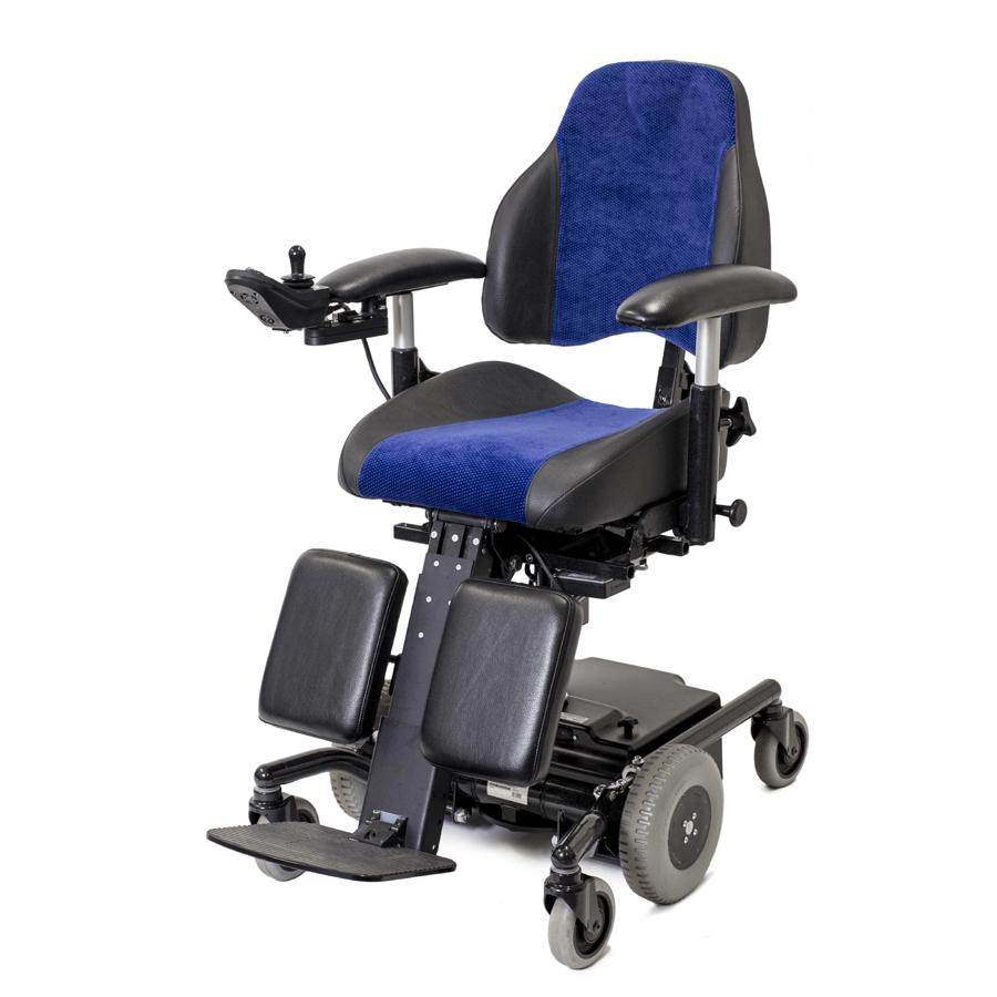 Mercado elektrisch verrijdbare binnen rolstoel trippelstoel met joystick